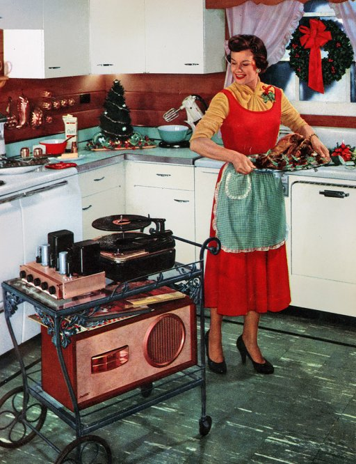 Hi fi boom box 1954 sound of the hound for House music fashion