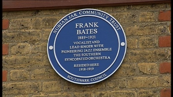 Frank had lived in Hichisson Road in Peckham Rye where the plaque was unveiled.