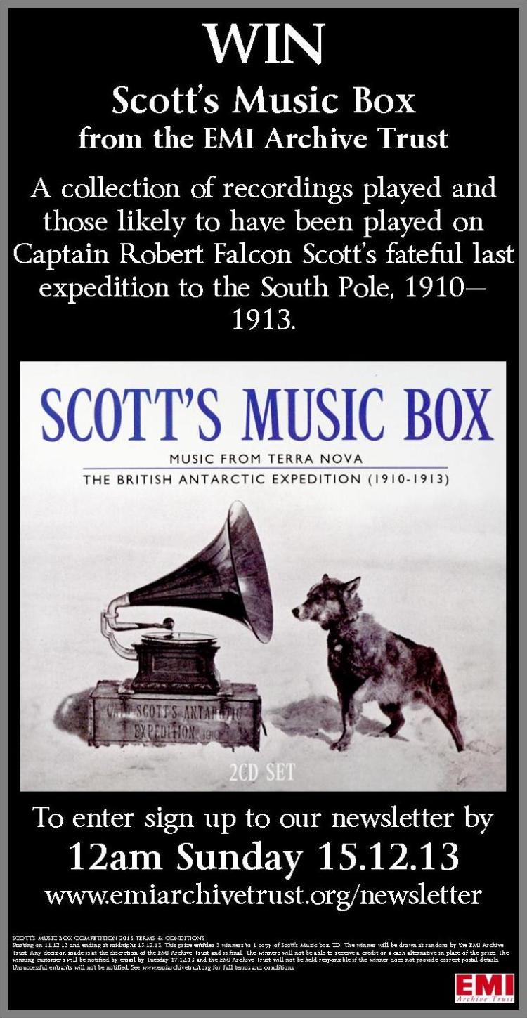 Win a copy of Scott's Music Box