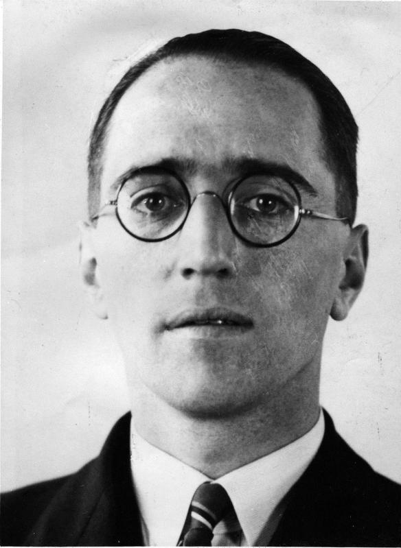 Alan Dower Blumlein (1903-1942) photo courtesy of THE EMI Group Archive Trust